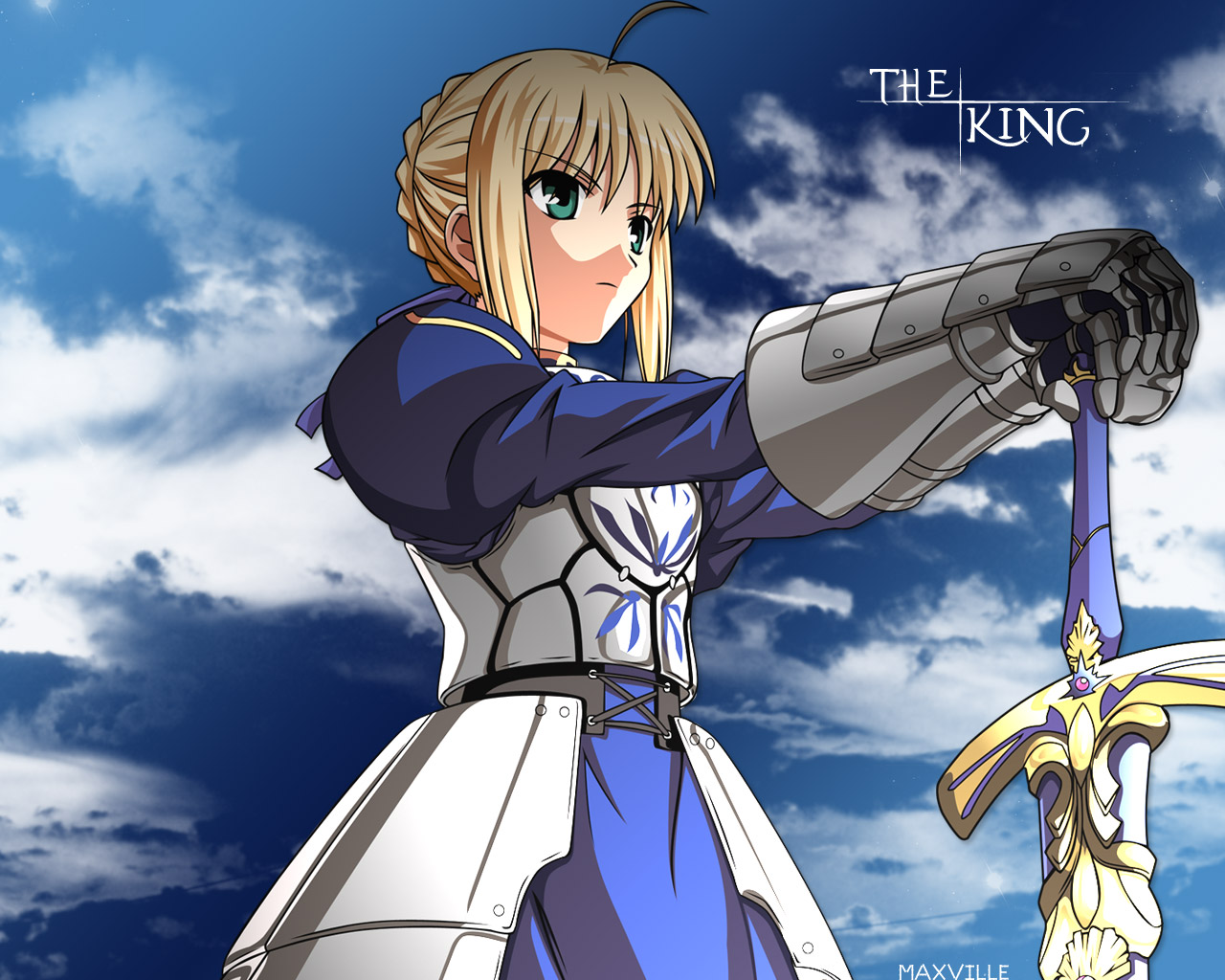 Saber   Fate Stay Night Wallpaper 25737672 1280x1024