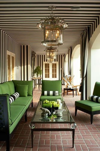 Love Affair with Kate Spade Green Return to Home Interiors 333x502