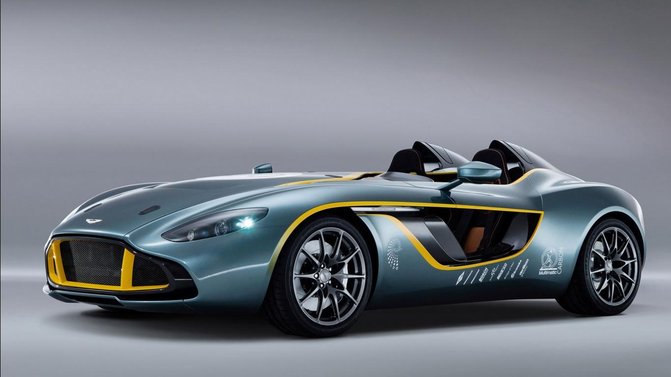 Aston Martin CC100 Speedster Concept Wallpapers HD Wallpapers 1366x768
