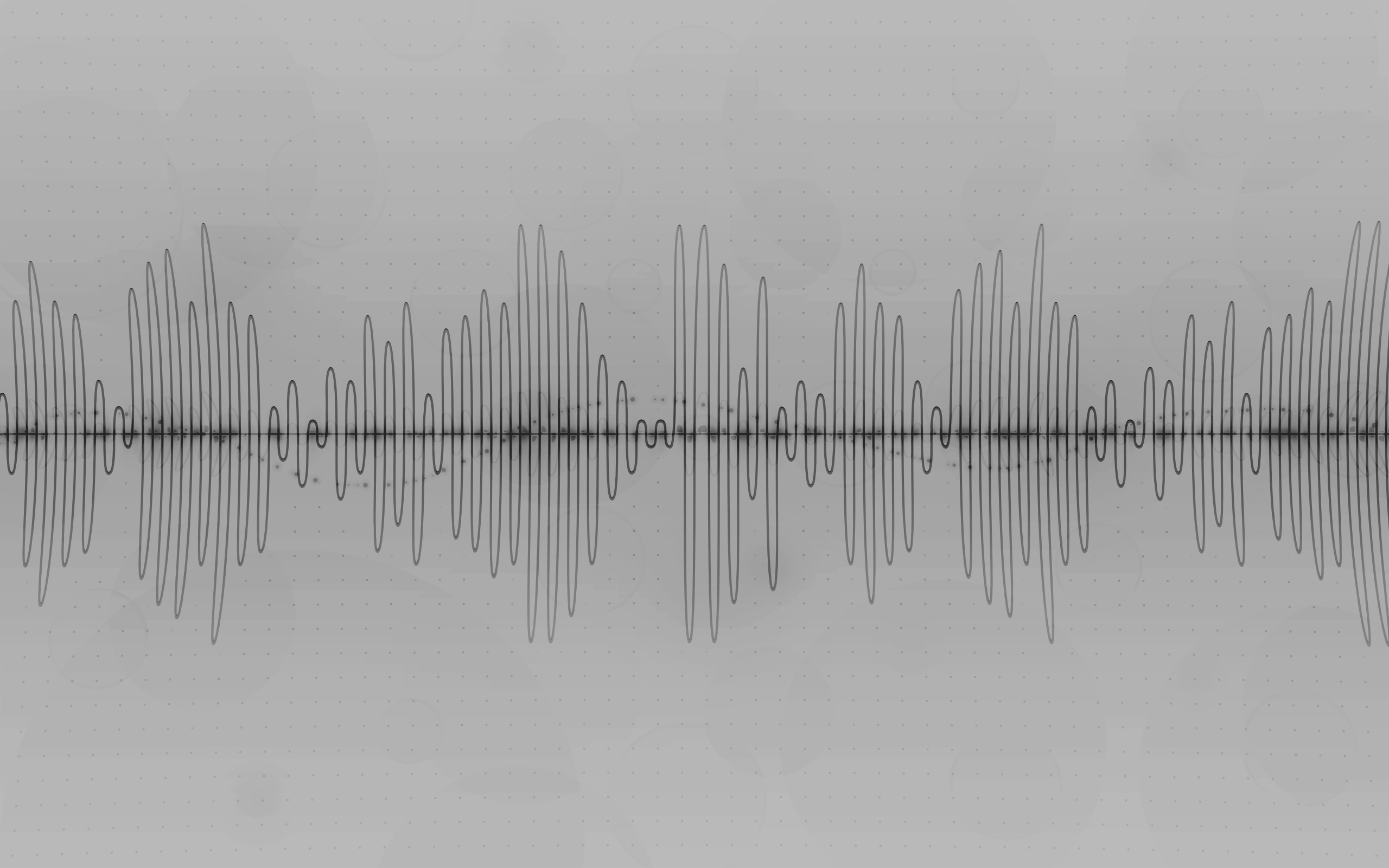 Wallpapers For Sound Waves Wallpaper White 2560x1600
