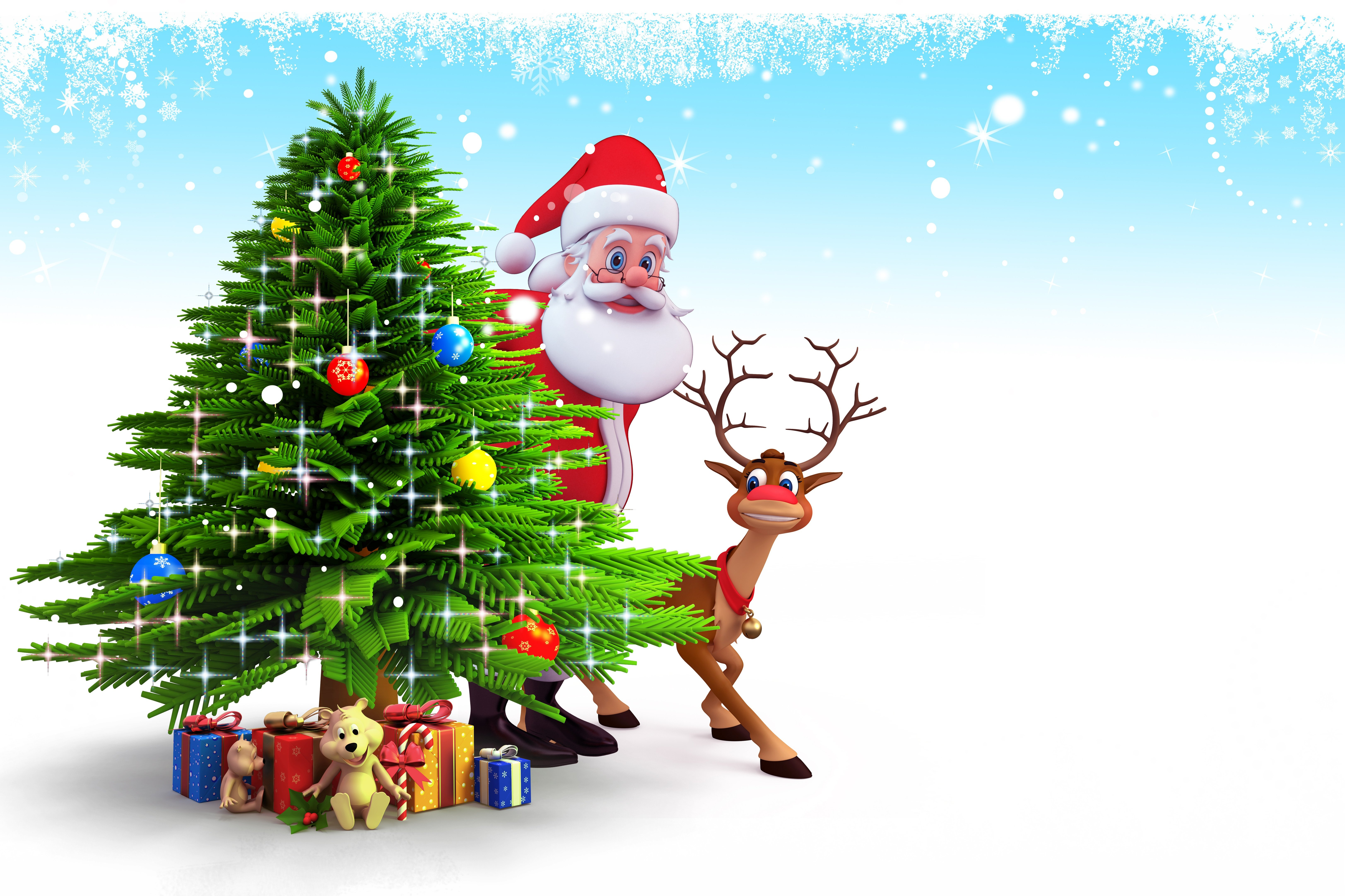 Merry Christmas Backgrounds Hd Wallpapers Mac   Animated 6496x4331
