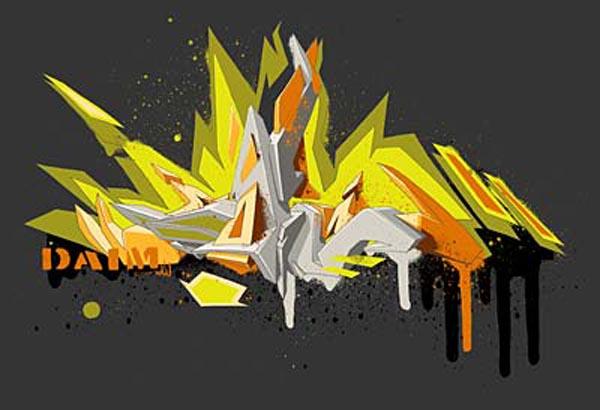 Abstract Graffiti Maker Daim Graffiti HD Walls Find Wallpapers 600x410