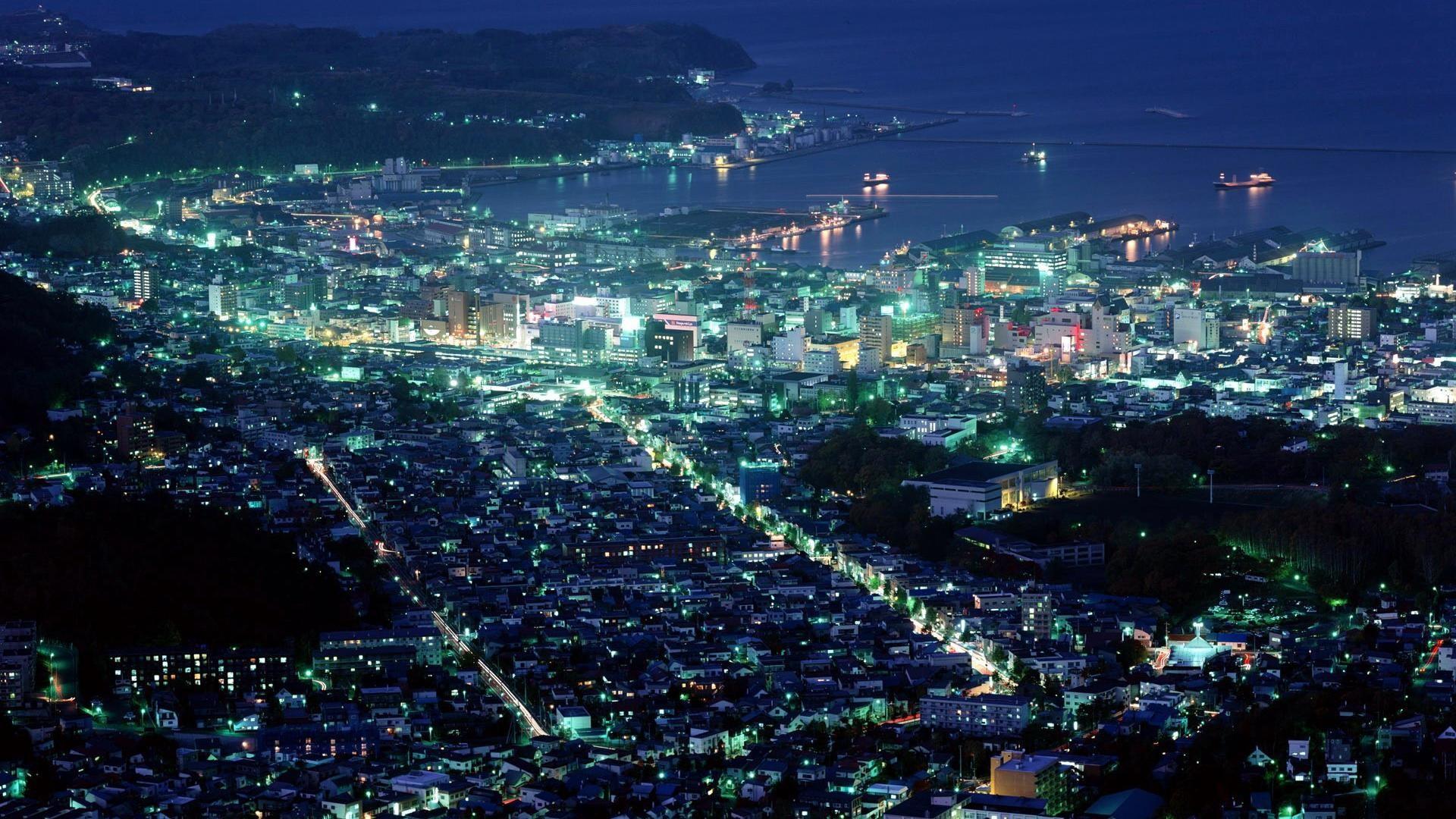 Night City Wallpaper Hd
