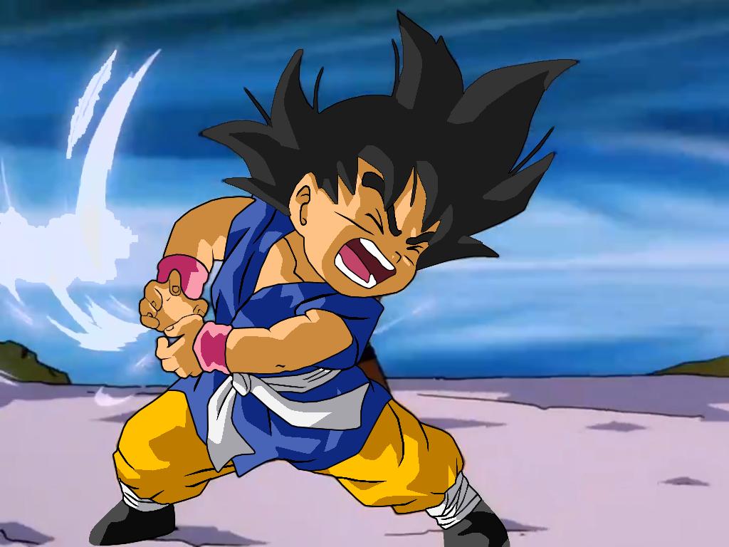 Goku Gt Wallpaper 1024x768