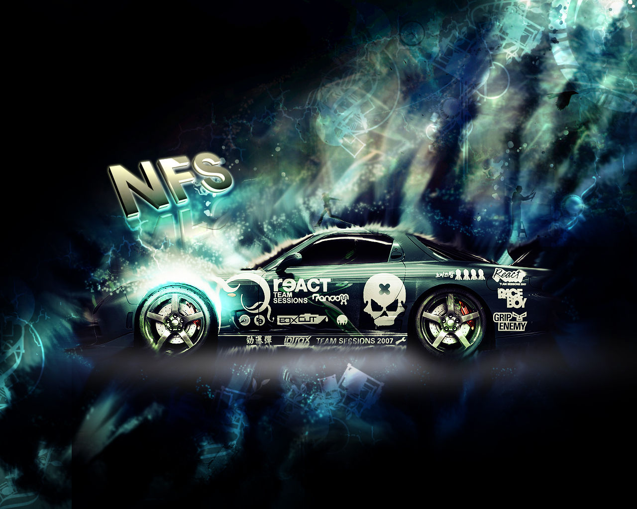 NFS Pro street wallpaper by No10x 1280x1024