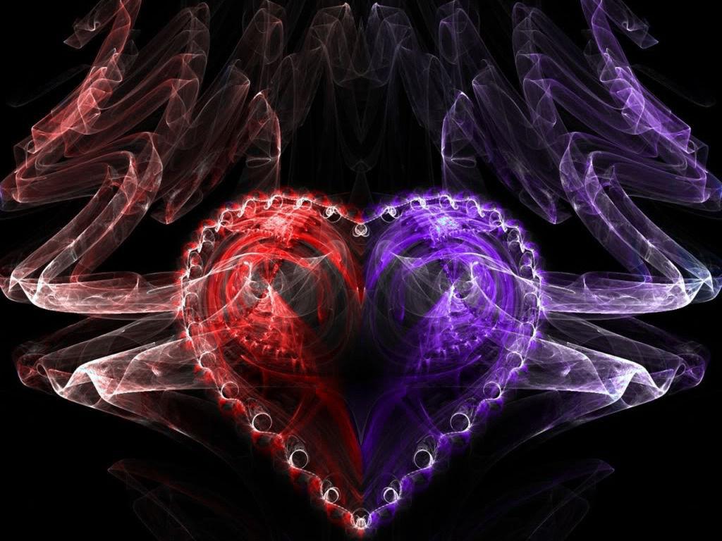 Image   Red purple heart Wallpaper dhttjpg   DJLs OCs Wiki 1024x768