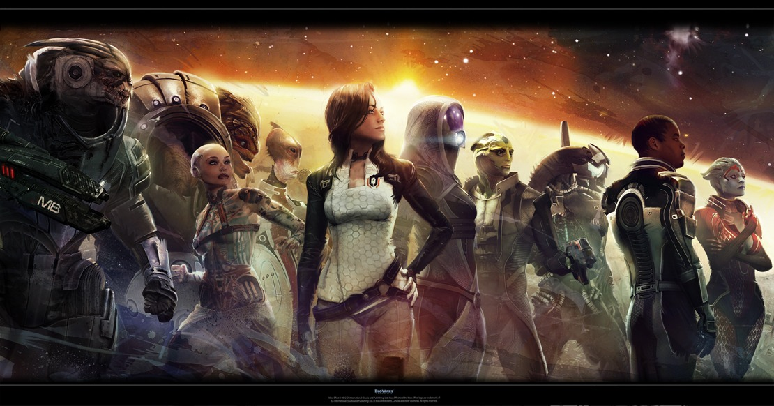 Epic Mass Effect Wallpaper by N7 KGG MASSEFFECT 1110x582