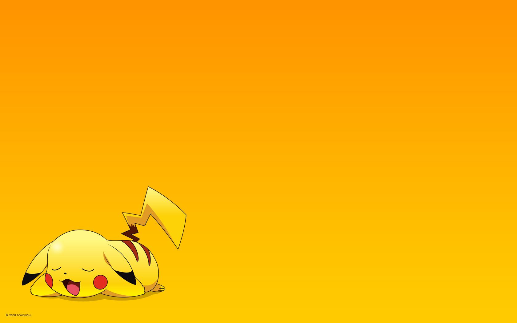 Pics Photos   Pikachu Pokemon Wallpaper 1680x1050