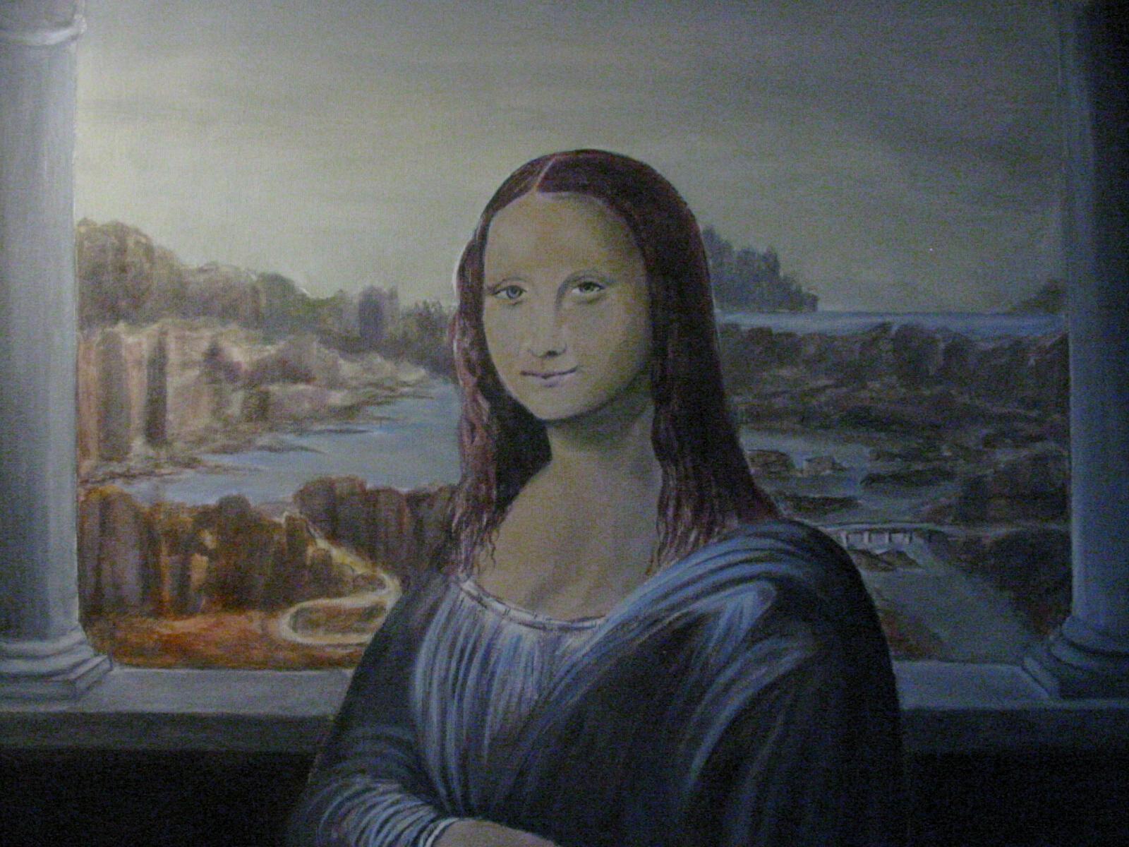 paintings mona wallpaper 1280x980 - photo #21