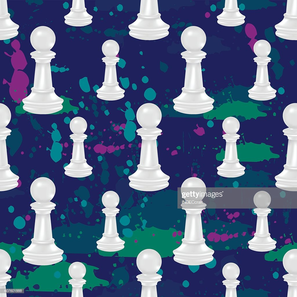 Pawn Chess Seamless Background stock vector   Getty Images 1024x1024