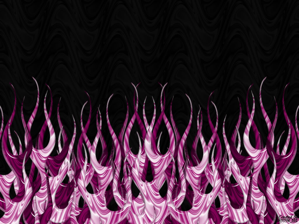 49 Purple Flames Wallpaper On Wallpapersafari