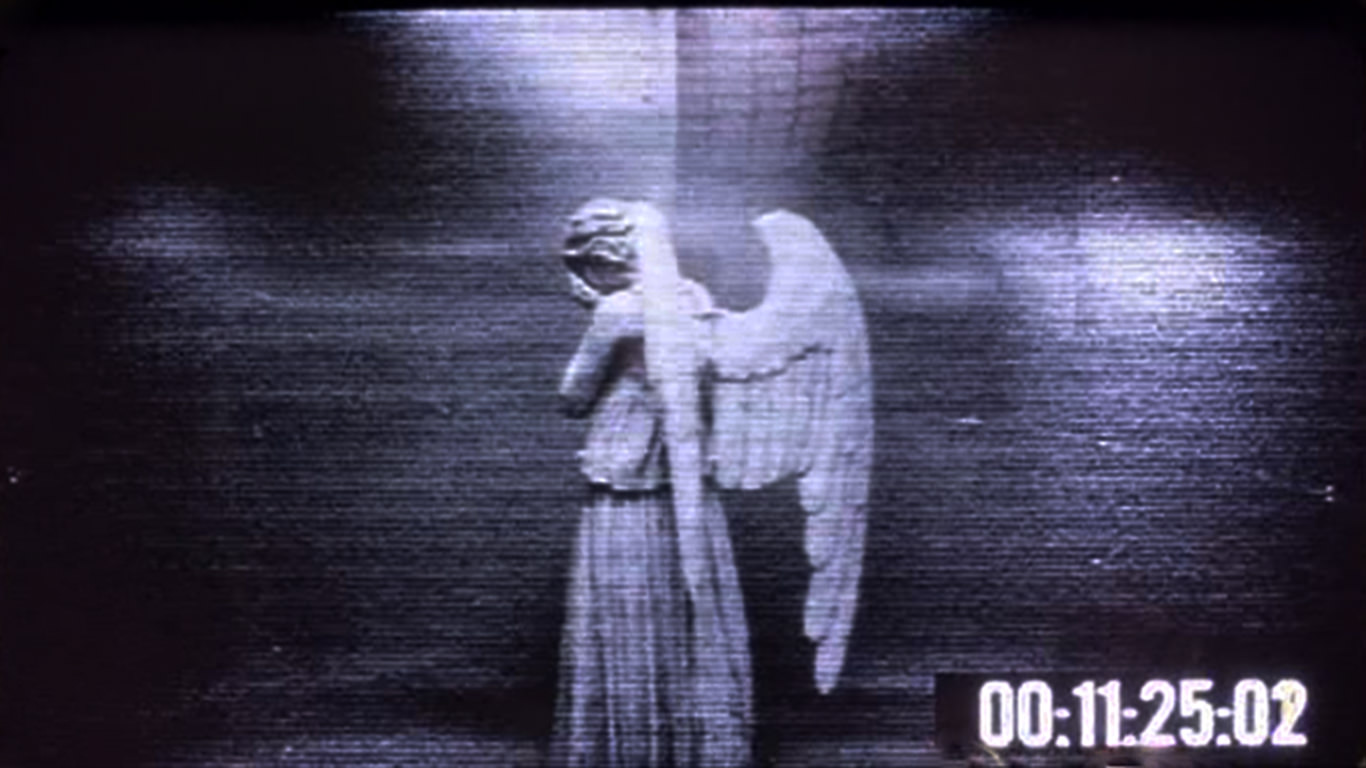 weeping angel desktop wallpaper windows mac prank 1366x768