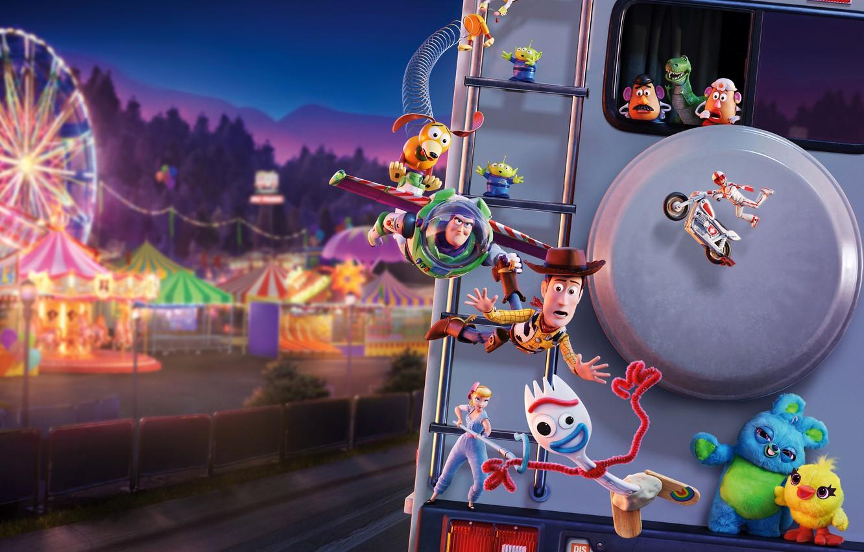 Wallpaper toys cartoon fantasy adventure Toy Story 4 Toy 1332x850