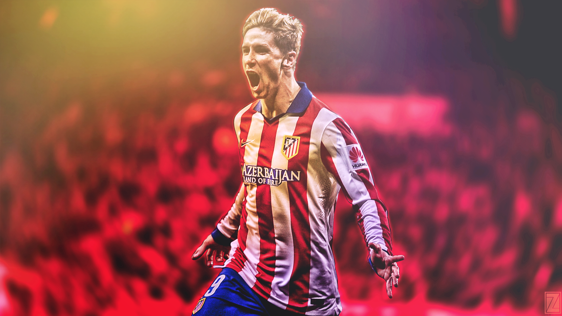 Fernando Torres Atletico Madrid Effect by izographic on 1920x1080