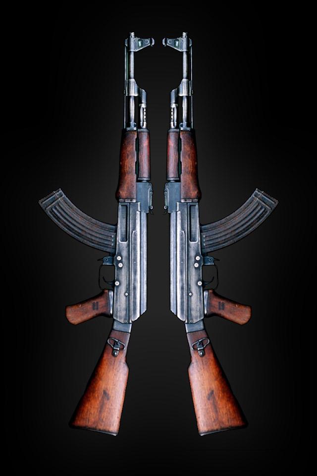 AK 47 iPhone 4 Wallpaper Wallpapers Photo 640x960
