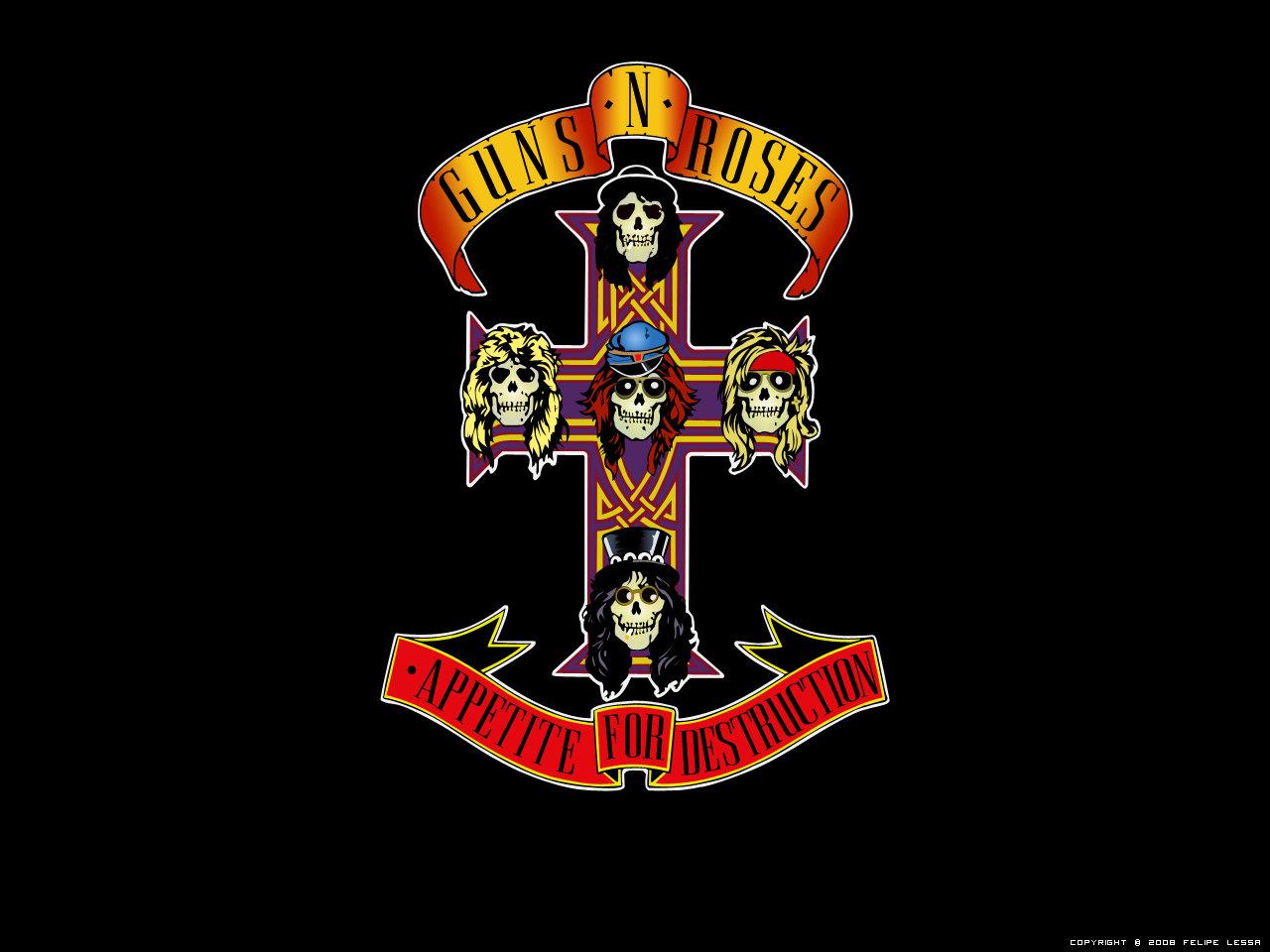 Guns N Roses Font Wallpaper guns n roses by 1280x960