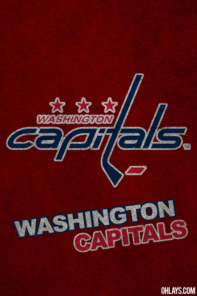 Washington Capitals iPhone Wallpaper 1135 ohLays 640x960