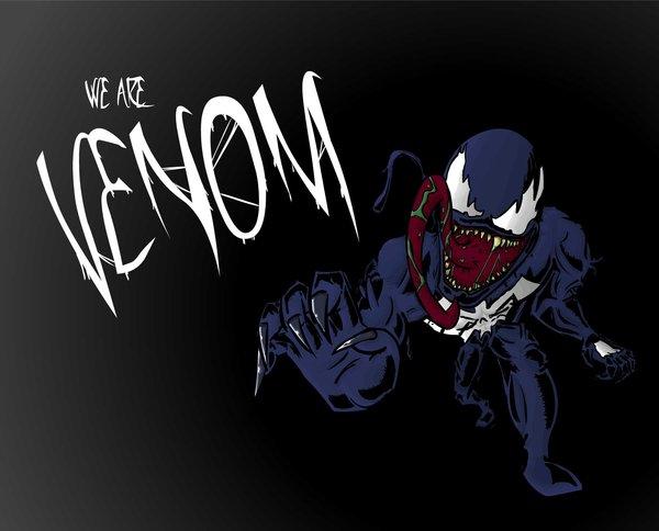 Venom Wallpaper Venom wallpaper by monkeymoose 600x484