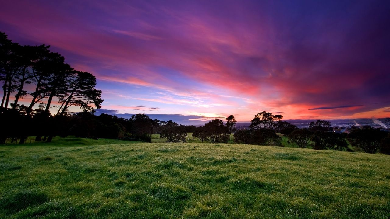 Nature: Beautiful Morning, desktop wallpaper nr. 32588 by ChrisGin