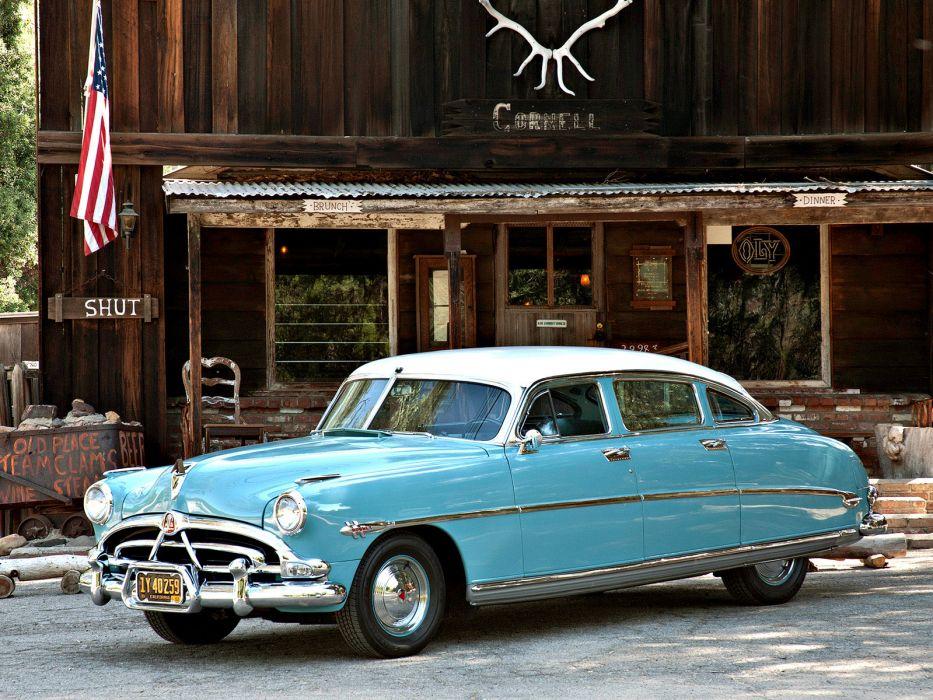 1952 Hudson Hornet Sedan retro wallpaper 1600x1200 104279 933x700