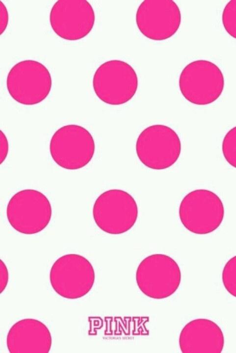 Pink Nation Pinterest Polka Dot Wallpaper Pink Polka Dots and 481x720