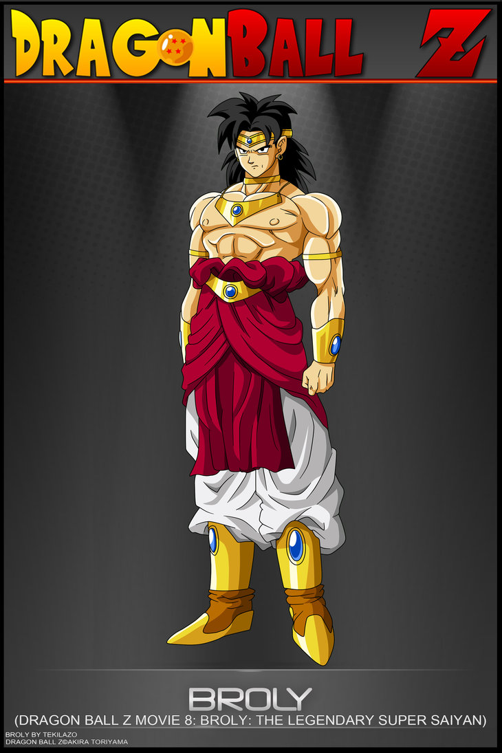 DRAGON BALL Z WALLPAPERS Normal Broly 730x1095