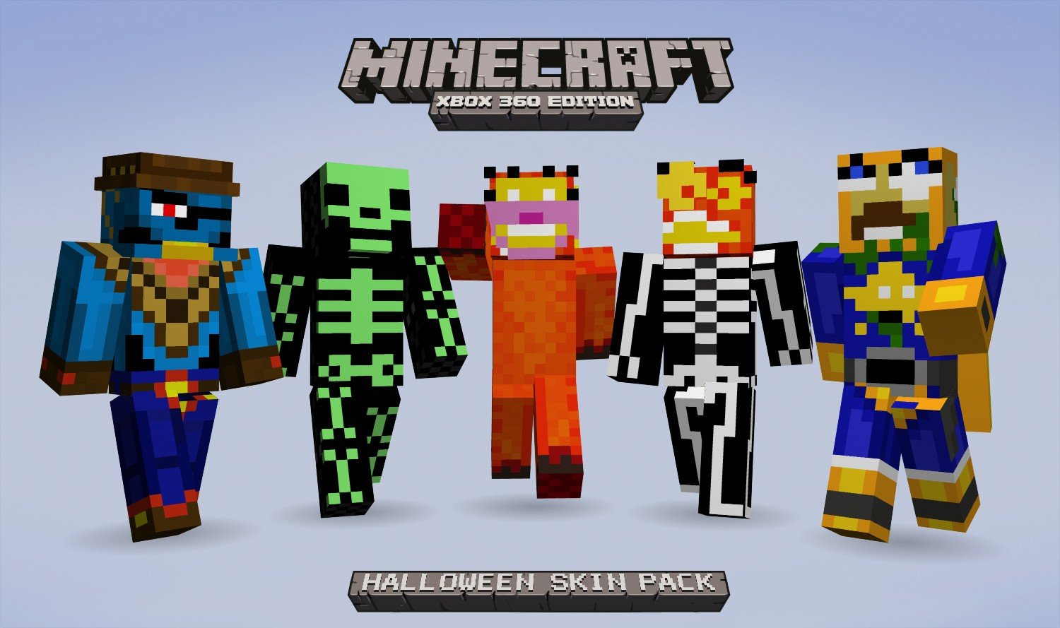 Minecraft Skin Halloween Pack HD Wallpaper Minecraft Skin Halloween 1500x889