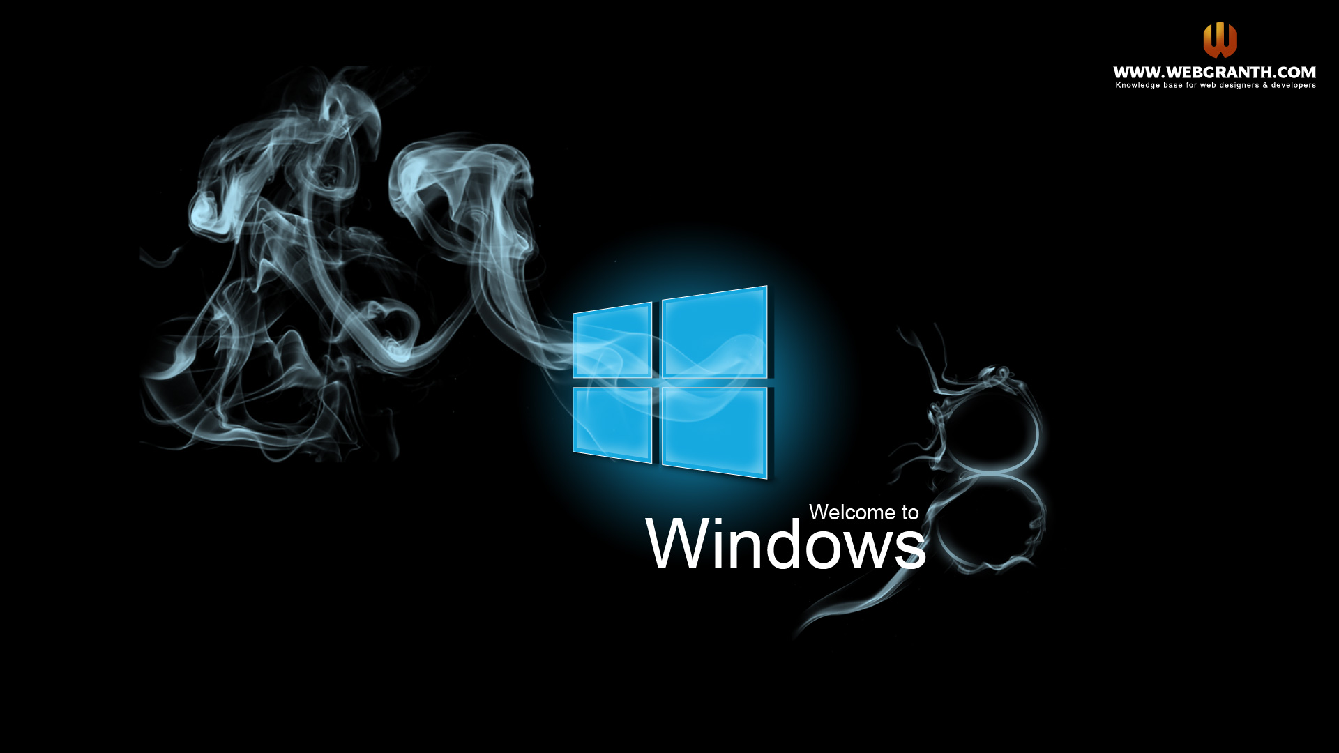 too love the smoke wallpapers? This free window 8 wallpaper background ...