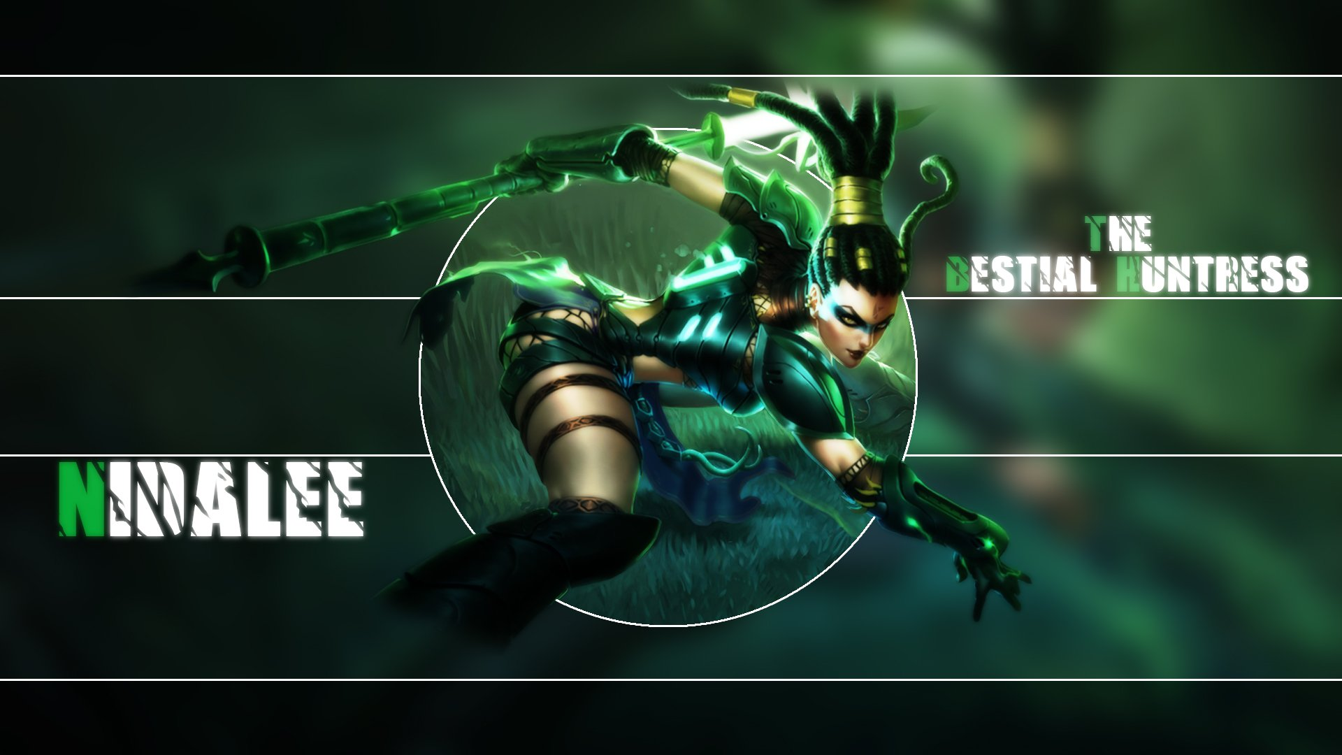 Headhunter Nidalee Wallpaper Headhunter nid 1920x1080
