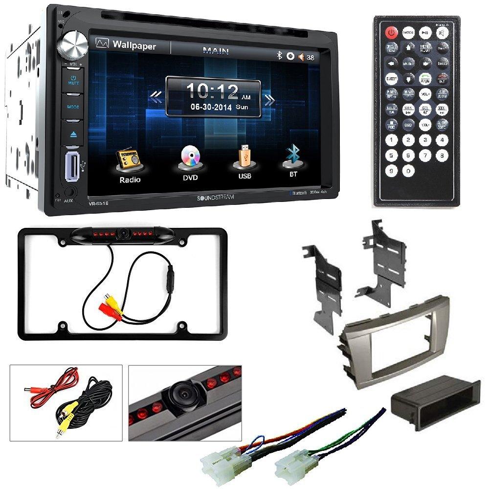 Amazoncom Soundstream VR 651B Double DIN Bluetooth in Dash DVD 1000x1000