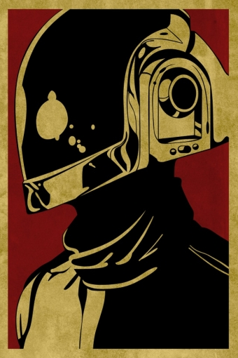 Obey Daft Punk iPhone HD Wallpaper iPhone HD Wallpaper download 340x510