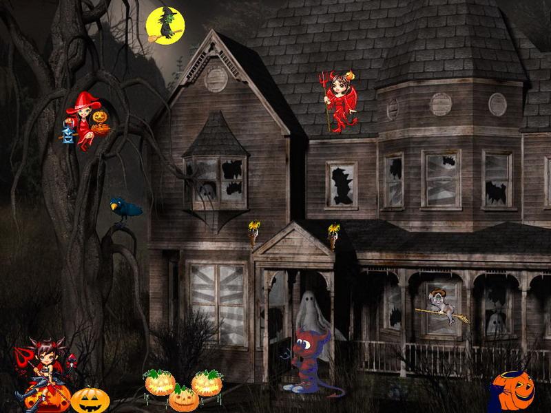 Source URL http7art screensaverscomhappy halloweenshtml 800x600