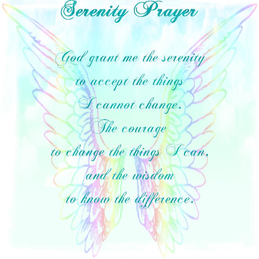 Serenity Prayer by HeartofSerenity 894x894