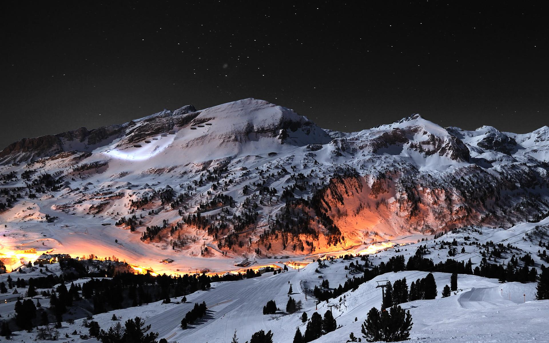 wallpaper Snow Mountains Desktop Backgrounds hd wallpaper background 1920x1200