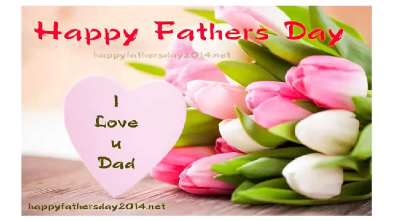 Happy fathers day 2014 wallpaper with quotes 1280x720