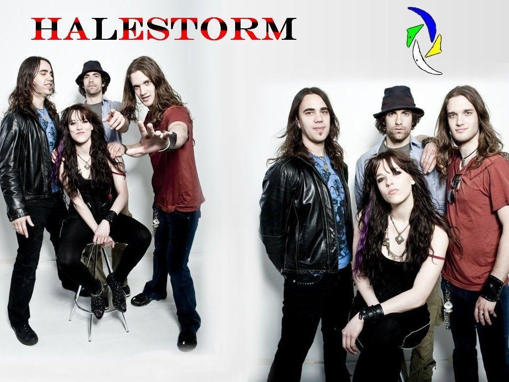Halestorm Wallpapers 1024x768