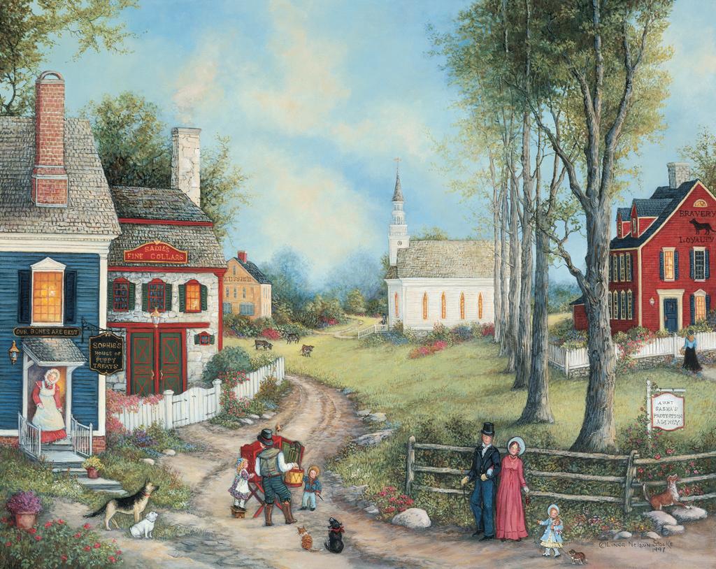 Country Folk Art Computer Wallpaper Wallpapersafari