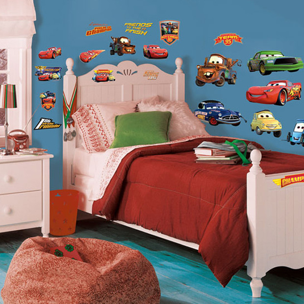 RoomMates Peel Stick Wall Decals   Cars Piston Cup Champs Target 620x620