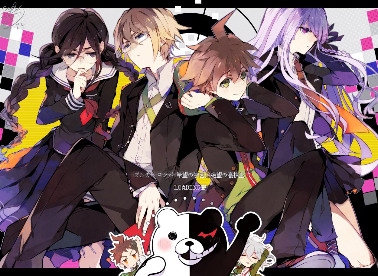 Komaeda Nagito Wallpaper   Zerochan Anime Image Board 1250x915