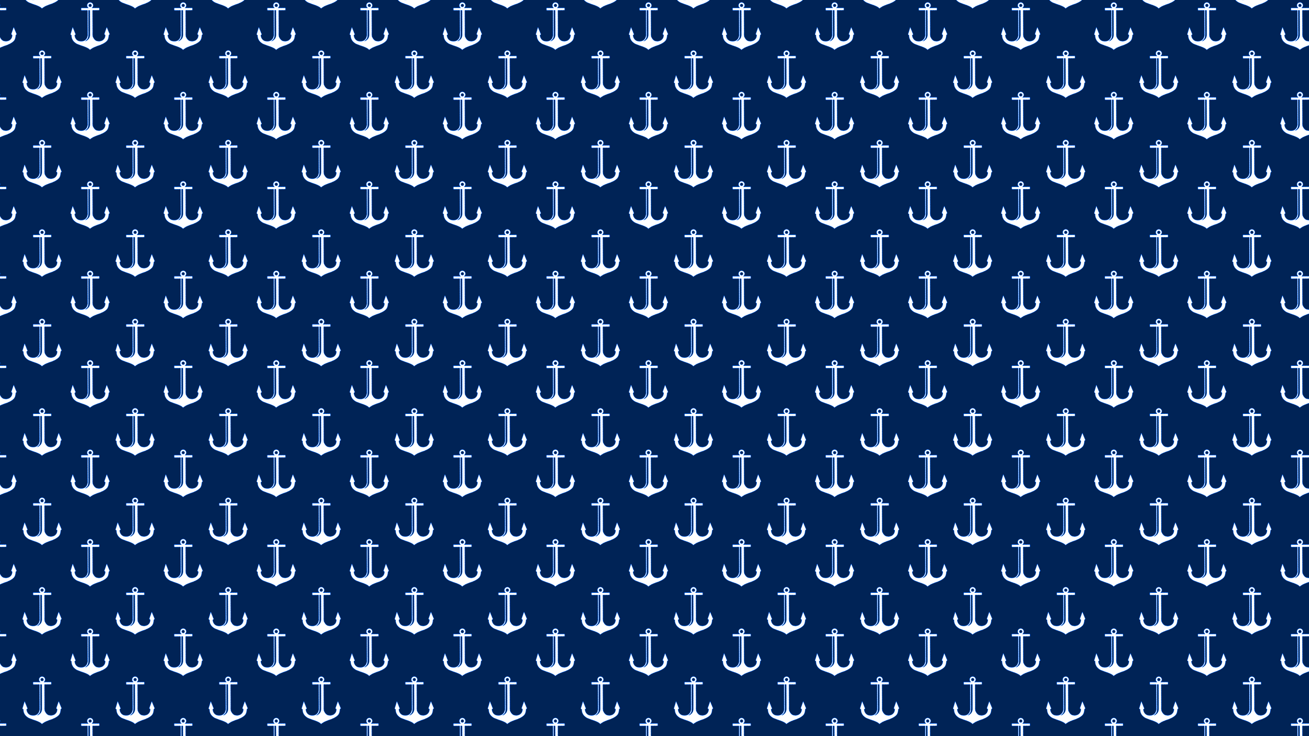 Navy Blue Anchors Desktop Wallpaper is easy Just save the wallpaper 2560x1440
