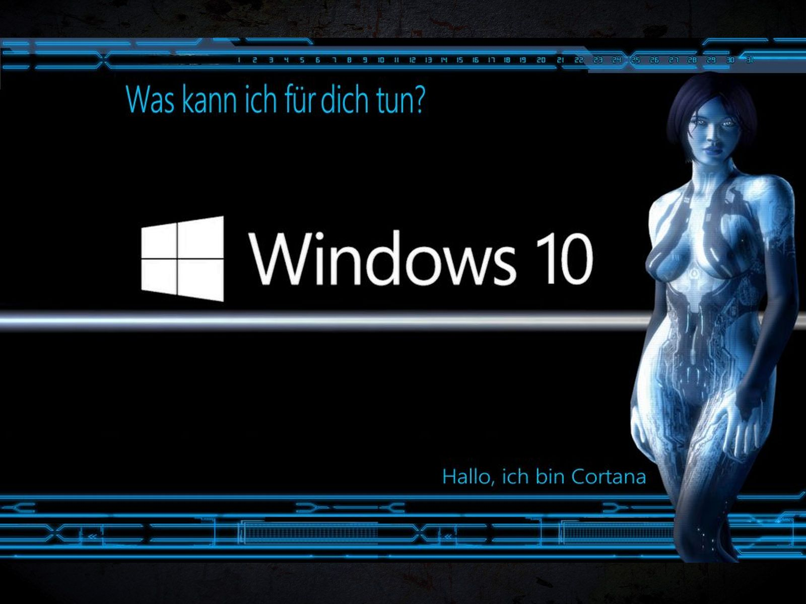 Cortana Animated Wallpaper Windows 10 Wallpapersafari