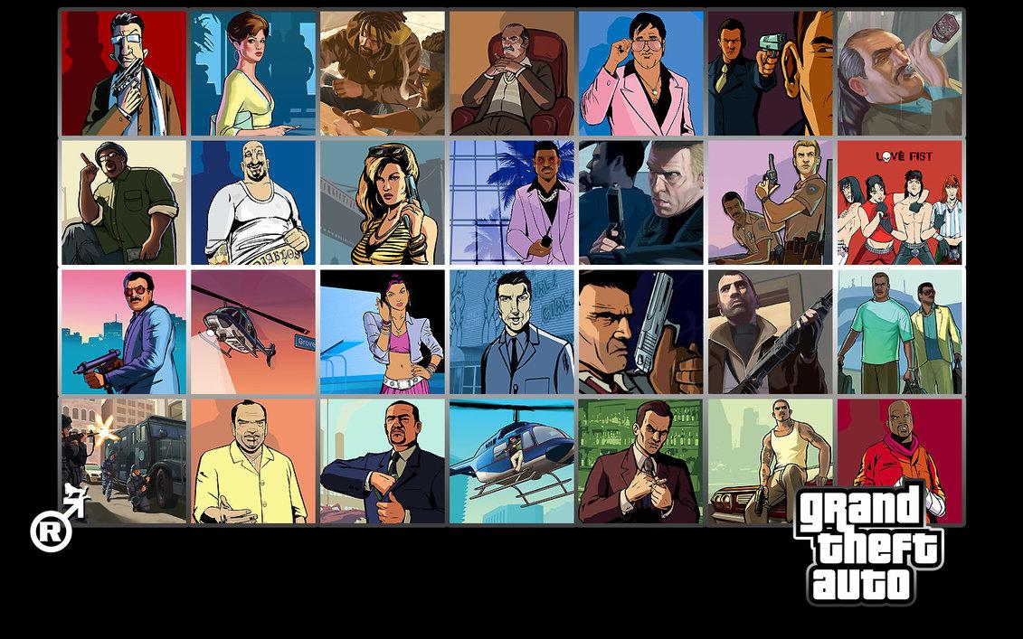 Grand Theft Auto Wallpaper by Raptomex 1131x707