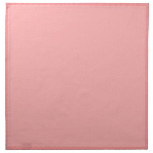 Light coral pink background cloth napkin Zazzle 512x512