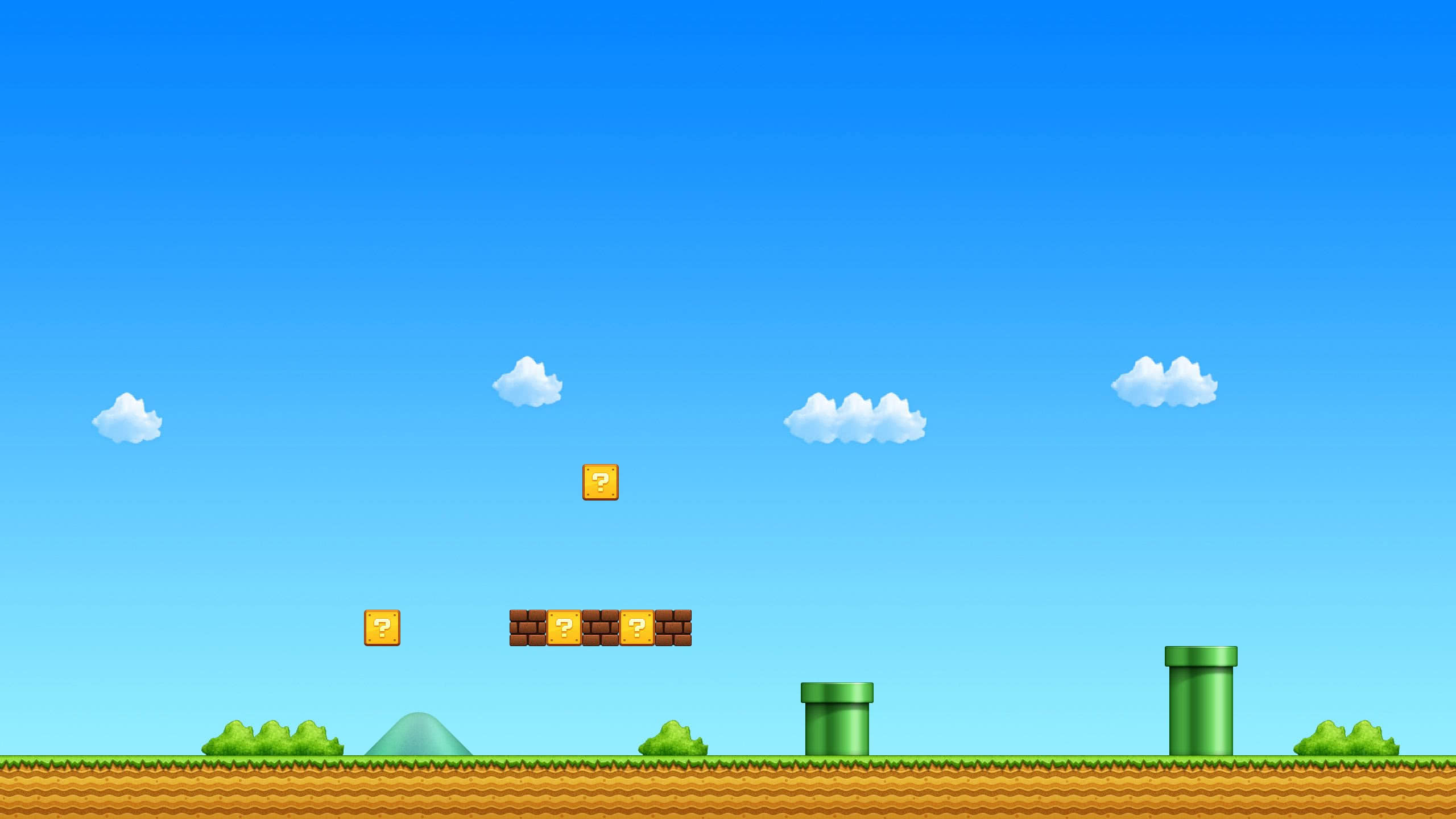 Mario Background WQHD 1440P Wallpaper Pixelz 2560x1440