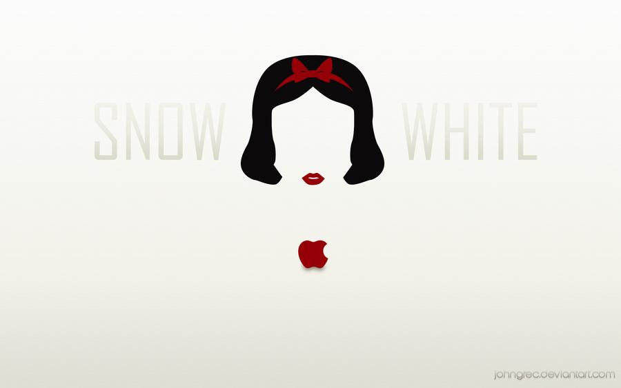 DISNEY MINIMALIST Snow White by johngreeko 900x563