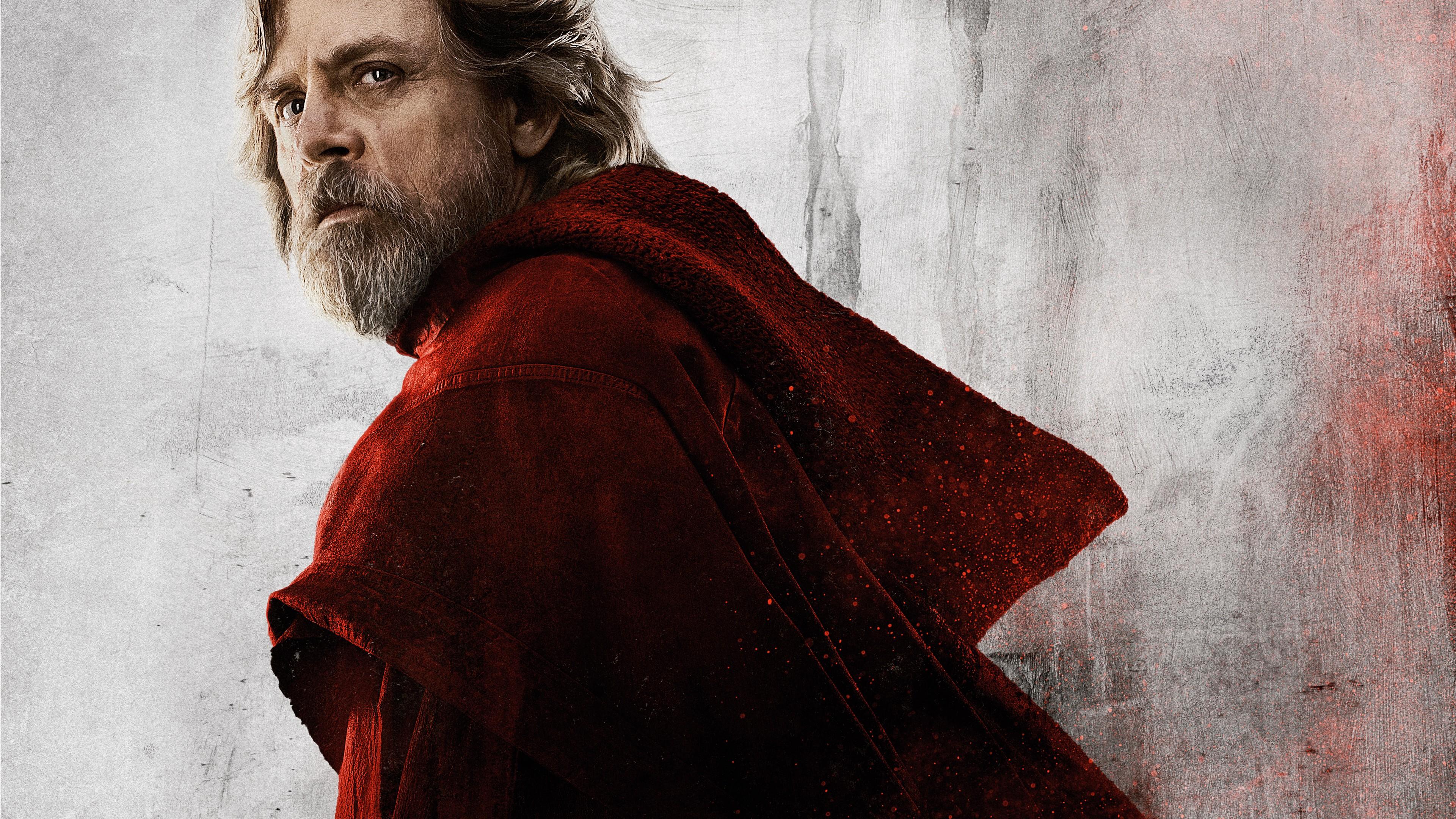 Wallpaper Star Wars The Last Jedi Mark Hamill 8k Movies 15103 3840x2160