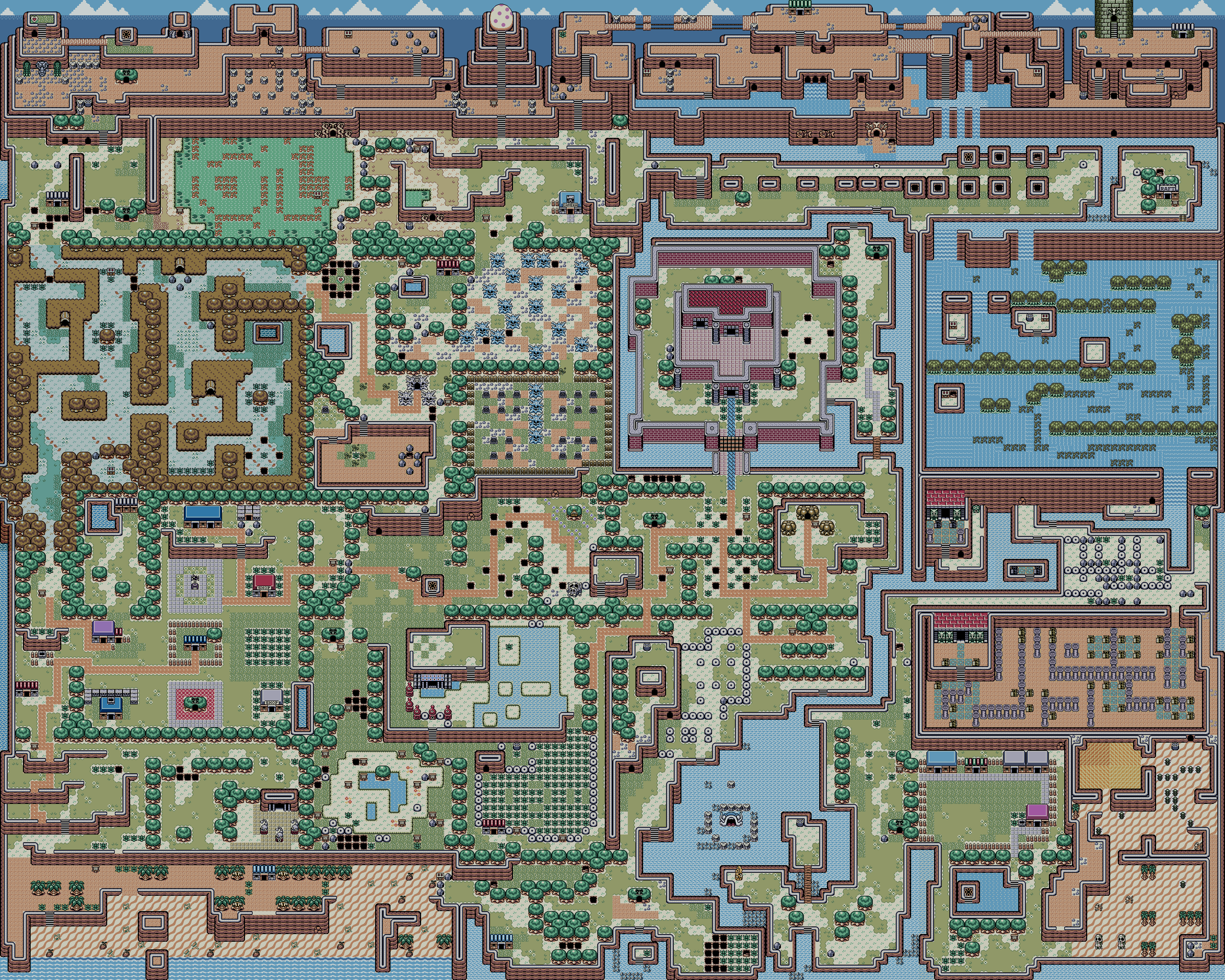 This always has been and always will be the best Video Game Map 2560x2048