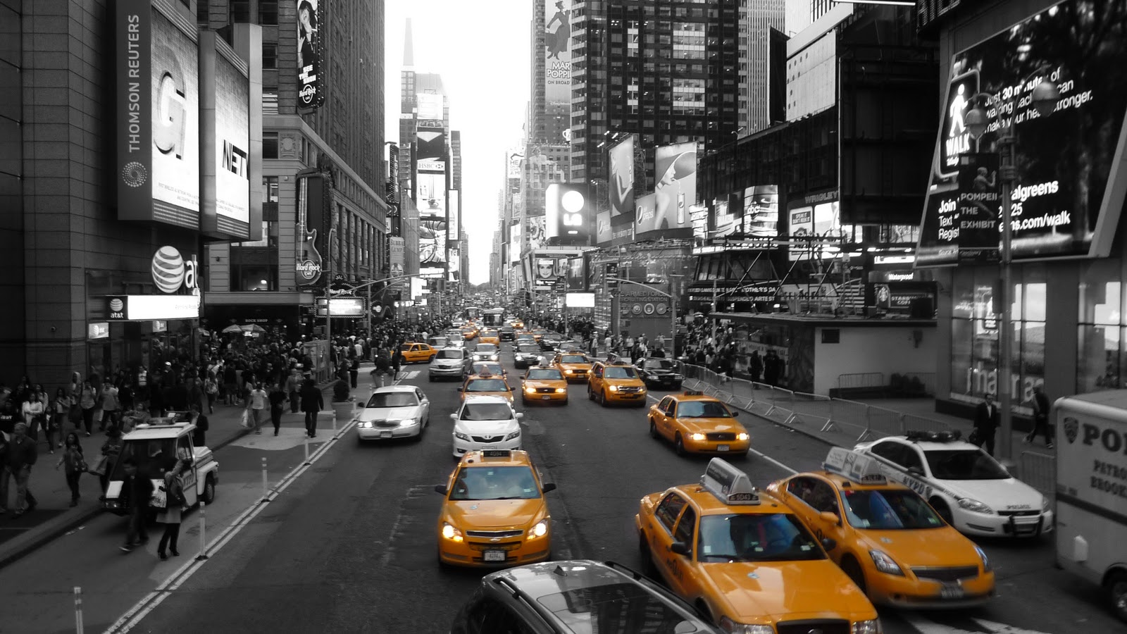 New York background image Cities wallpapers 1600x900