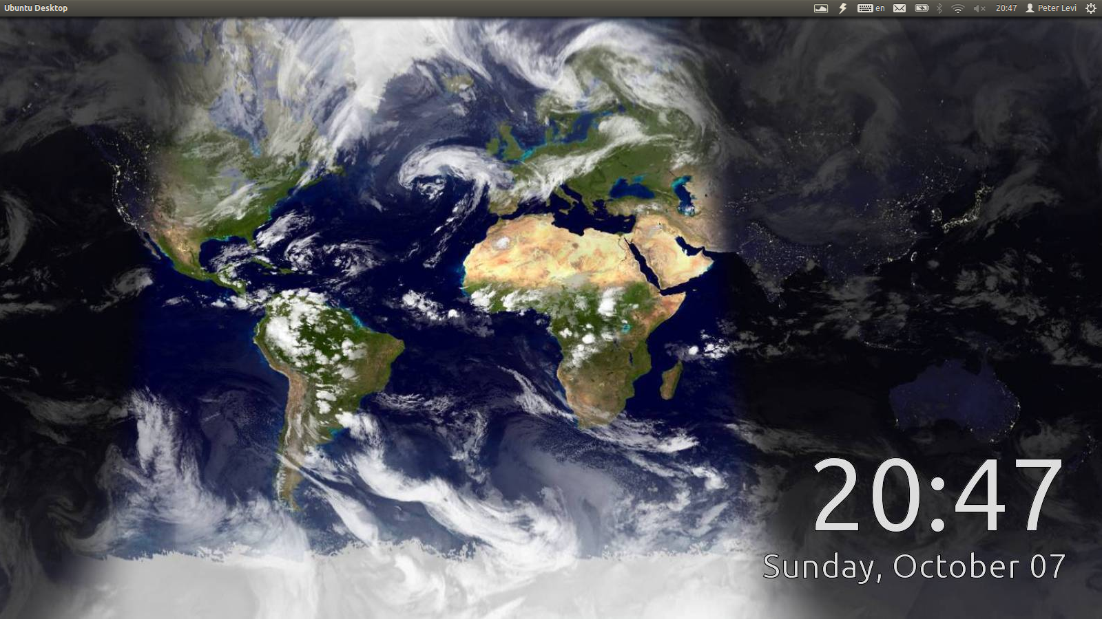 Live world clock wallpaper wallpapersafari world sunlight map is great as a live wallpaper that shows realtime 1600x900 gumiabroncs Images