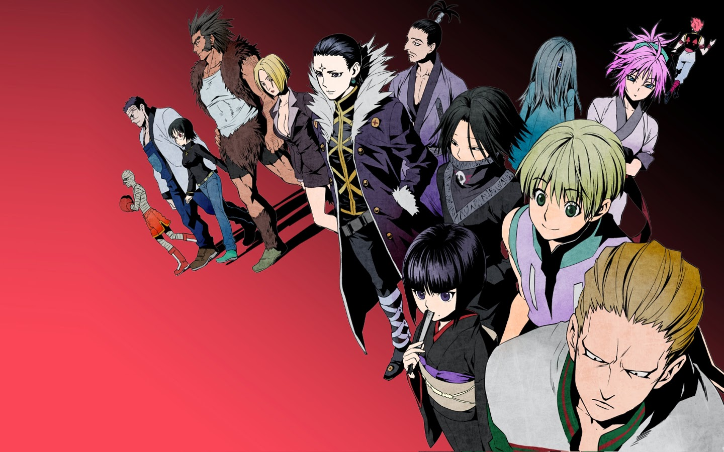 Phantom Troupe Wallpaper Hd Anime Hunter X 2011 1440x900
